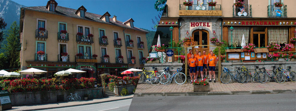 Entrada al Hotel Oberland